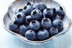 Fresh Blueberries for Breakfast